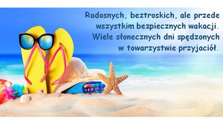 Życzenia wakacyjne – Kuratorium Oświaty w Białymstoku