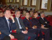 Przedstawiciele Uniwersytetu w Białymstoku i Marzenna Habib Wicedyrektor Ośrodka Rozwoju Edukacji w Warszawie