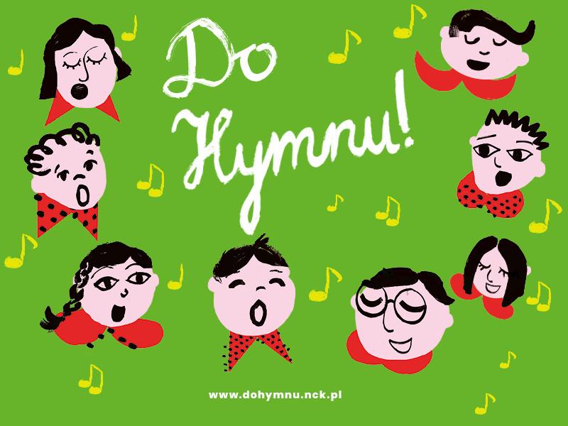 Logo III edycji ogólnopolskiego konkursu Narodowego Centrum Kultury Do Hymnu!