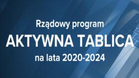 "Program ""Aktywna tablica"" 2020"